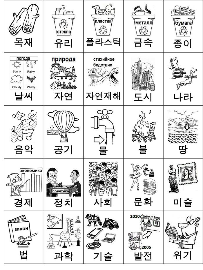 лексика общие понятия 1 карточки-1
